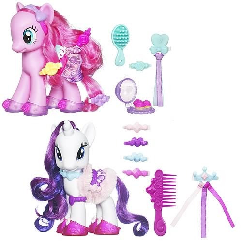 My Little Pony G4 Fashion Pinkie And Rarity