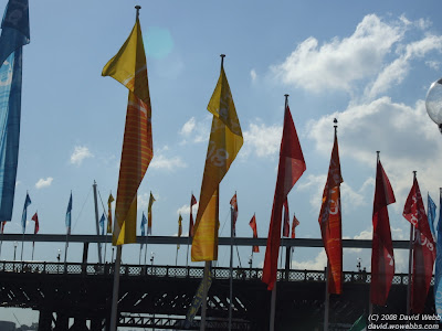 banners at world youth day 2008
