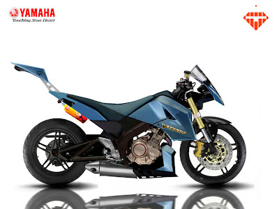 Modifikasi Yamaha Vixion 2009