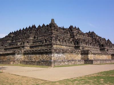 wallpaper candi Borobudur