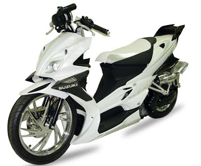 SUZUKI SKYWAVE MODIFICATION