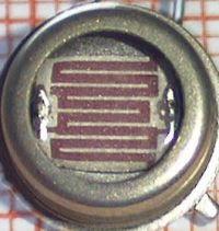 LDR ( Light Dependent Resistor )