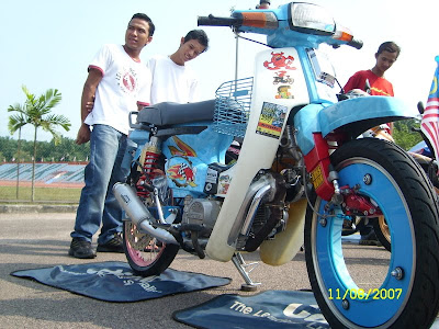 Honda EX5 modification pic