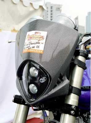 Modifikasi Suzuki Thunder 250