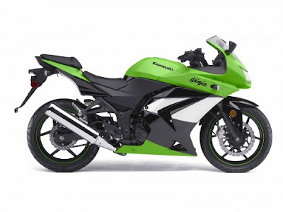 Kawasaki Ninja 250R 2009  Black Color