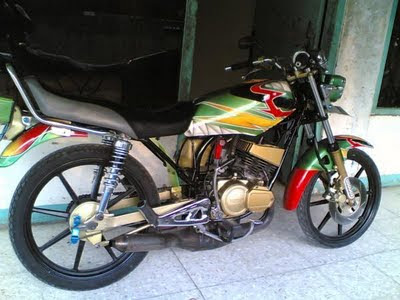 Modifikasi Yamaha Rx-King