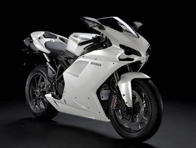 Ducati Superbike 1198 White