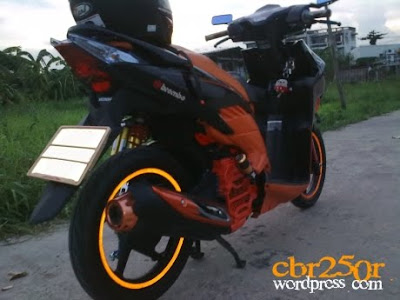 Picture Modifikasi Vario Techno