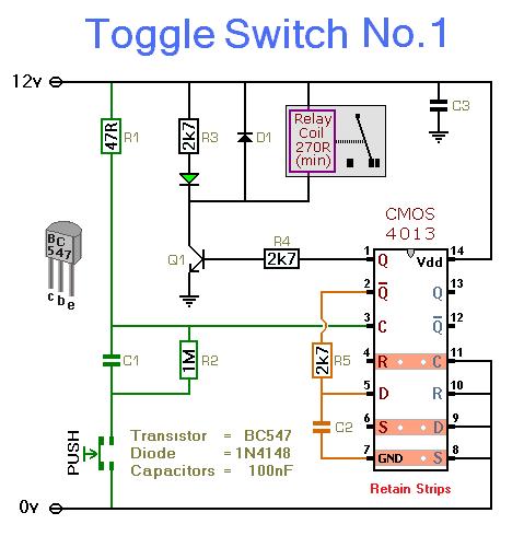 Rangkaian    Toggle       Switch    With Relay   KICKUCTUTORIAL RANGKAIAN LISTRIK PCB SUBWOFER LAMPU LED