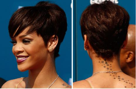 rihanna red hair dye. Event in a rihanna styling