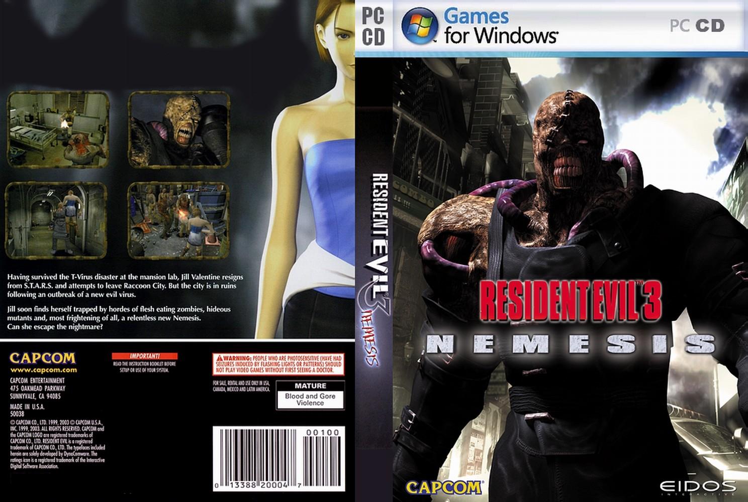 Resident Evil 3 Nemesis PC Municion Infinita