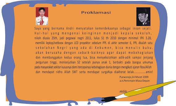 proklamasi 2008