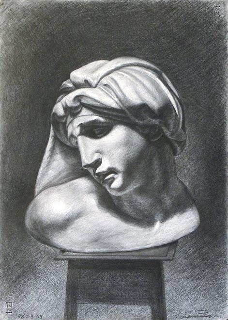 L'Aurora di Michelangelo 50x70 cm