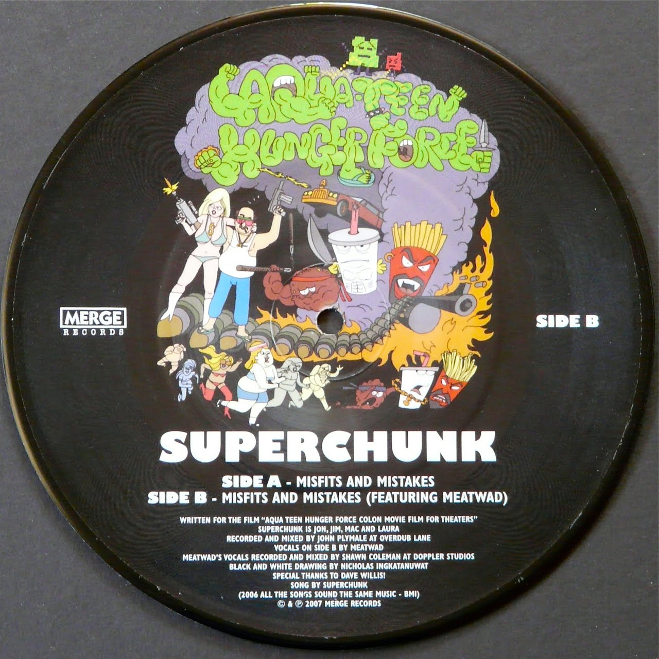 Superchunk sideA #aqua teen hunger force #cartoons #adult swim. Loading... Hide notes