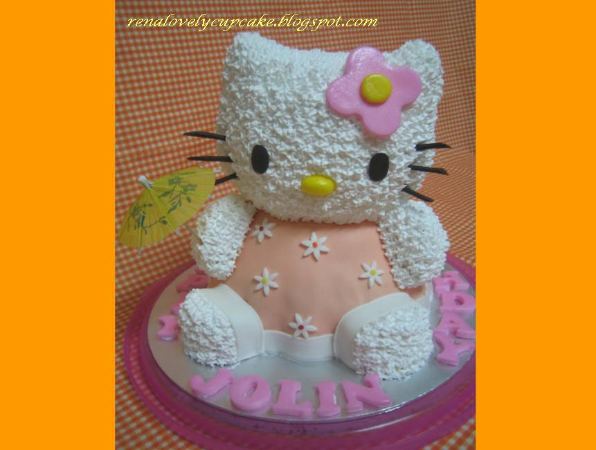 Hello Kitty 3d Cake. 3D Hello Kitty Birthday Cake