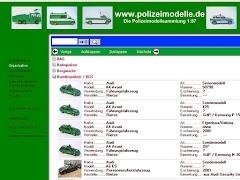 > Polizeimodelle-Datenbank mit über 1.800 Modellen!