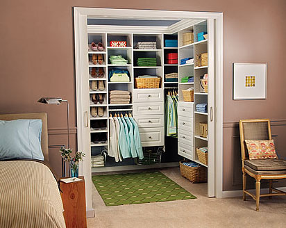 The Perfect Built Walk in Closet Room