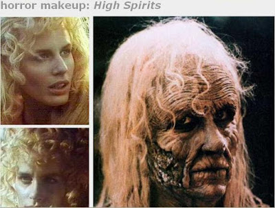 horror movies make up