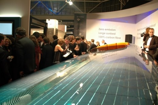 world's first solar speedboat photos