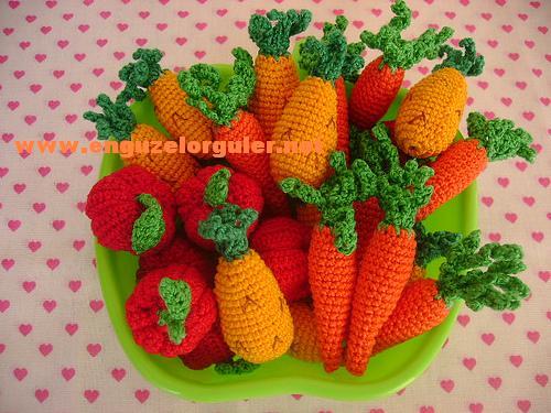 Amigurumi Vegetables : How to do amigurumi toys fruit and vegetables