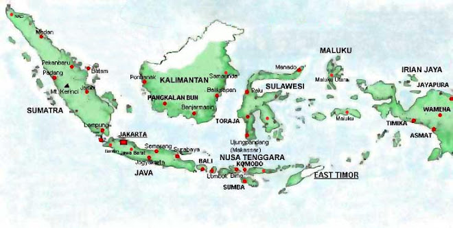 Indonesian Map