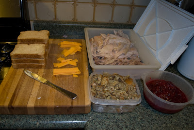 How to do something how to make the ultimate turkey for How to make leftover turkey sandwich