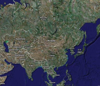 Bild över Kina