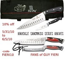 fans of guy fieri 10 discount on ergo chef cutlery. Black Bedroom Furniture Sets. Home Design Ideas