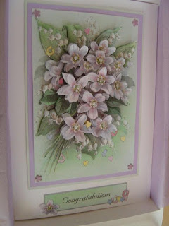 Decoupage Wedding Card crafted by Ruth