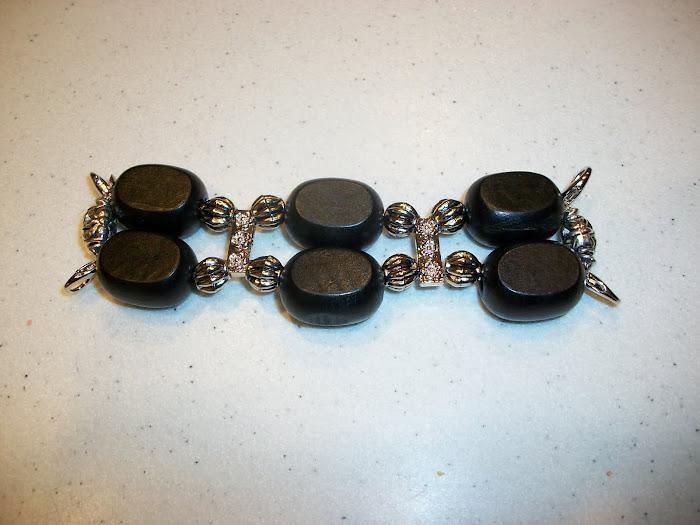 Chunky black/silver (W31)