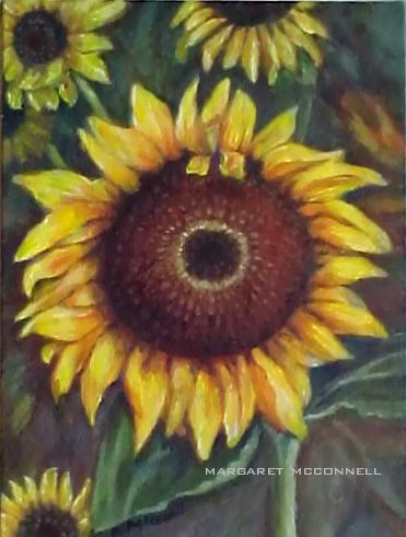 Sunflowers (For Sale - $80)
