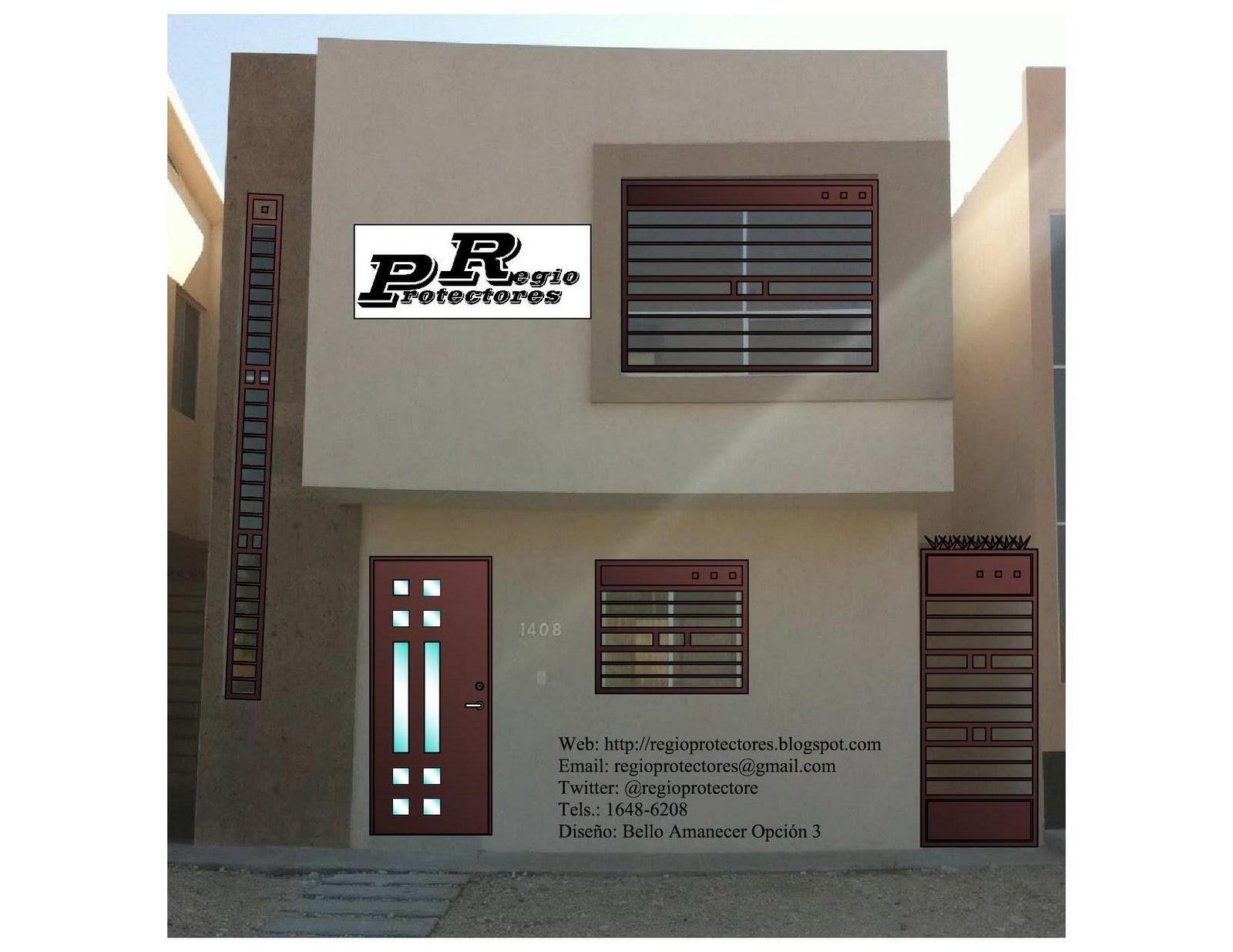 Rejas ventanas modernas hogar muebles ecuador ajilbab - Rejas para puertas ...