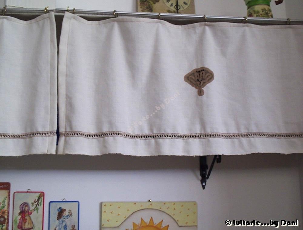 Tuttarte tendine rustiche - Tende per cucina rustica ...