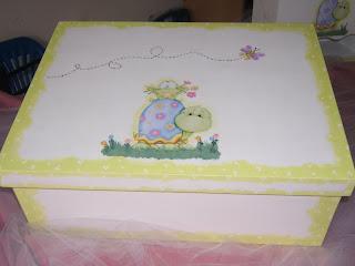 Cajas artesanales lm cajas para beb s - Cajas decoradas para bebes ...