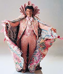 Liberace and Michael Douglas: Will God do the decent thing? Click glitter for story