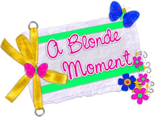 A Blonde Moment