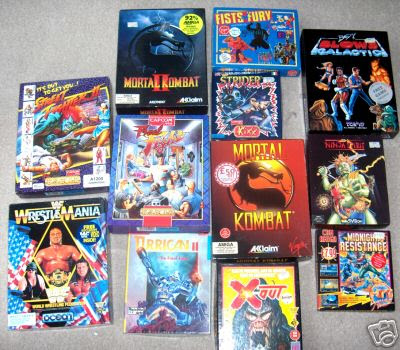 Commodore Amiga 500 Boxed Games