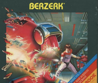 Berzerk Atari cartridge