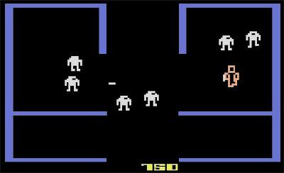 Berzerk Atari 2600 death