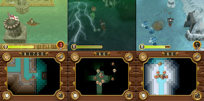 Pirates: Duels on the High Seas DS screenshots