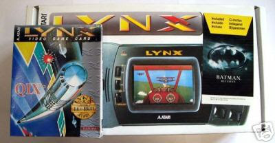 Atari Lynx II Batman Qix bundle