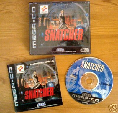 """MEGA CD """"Para los que supimos elegir"""" Snatcherebay"""