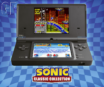 Sonic Classic Collection DS screenshot