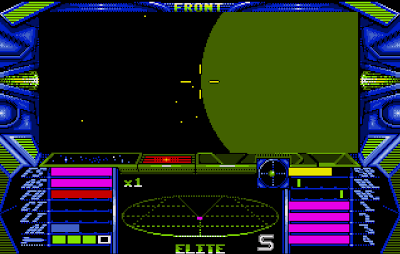 elite amiga gameplay screenshot