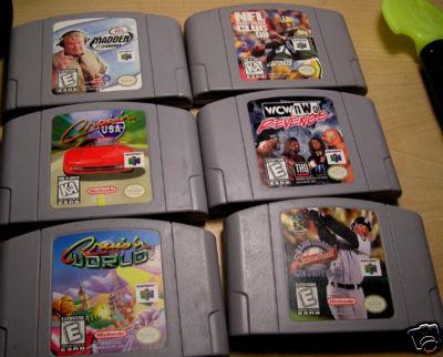 N64 sports games