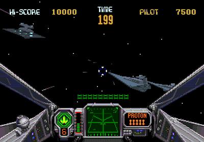 Star Wars Arcade Sega 32x
