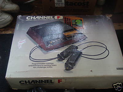 fairchild channel f box boxed