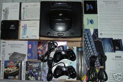 Sega Saturn Netlink modem