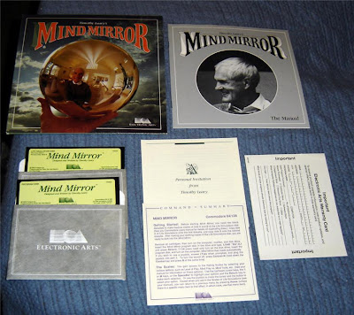 Timothy Leary Mind Mirror EA C64 game