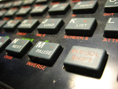 Spectrum 48k keyboard